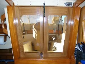 Island Packet 38 Companionway Doors