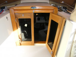 Island Packet 38 Companionway Doors