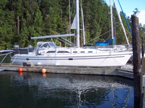 Catalina Yachts And Pride Of Ownership Boarding Ladders