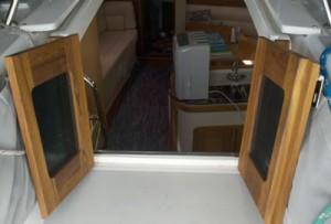 Catalina Companionway Doors