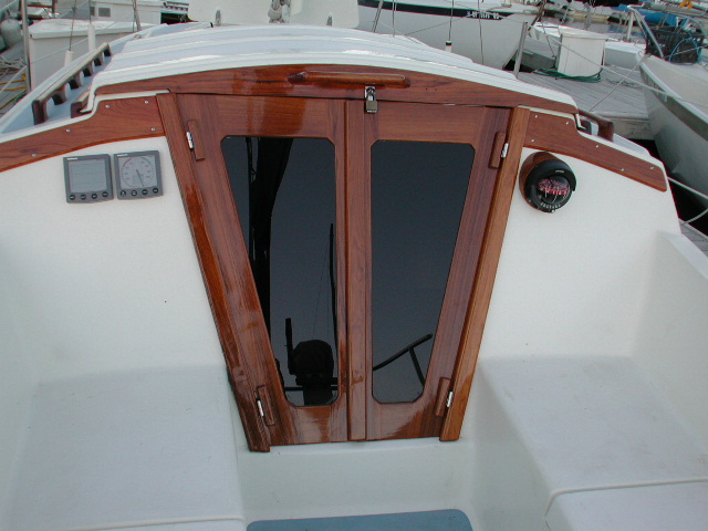 Catalina 30 Companionway Doors-2
