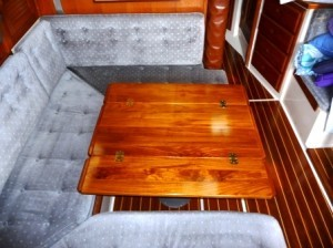 Custom Yacht Tables by Cruising Concepts