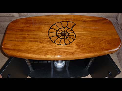 Wood Cockpit Table Dining