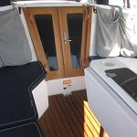 Catalina sailboat companionway doors