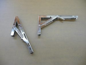 Stainless steel yacht table levers