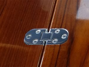 Stainless steel boat table hinges
