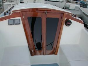 Catalina 30 Companionway Doors-2