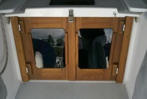 Companionway Doors Catalina 380-2